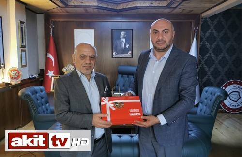 Akit TV Yönetim Kurulu Başkanı Derneğimizi Ziyaret Etti