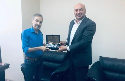 Arnavutköy İçe Tarım Müdürü Hayrettin Süvarioğulları´nı Ziyaret Ettik