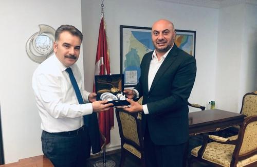 Arnavutköy Kaymakamı Ahmet Odabaş´ı Makamında Ziyaret Ettik