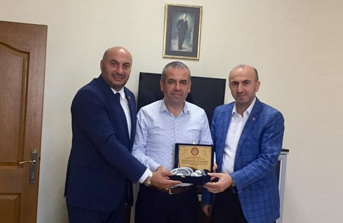 Ataşehir İlçe Tarım Müdürü Sayın Muhammet Ercik´i Ziyaret Ettik