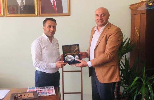 Bağcılar Belediye Başkan Yardımcısı Sn. Ali Erdoğan´ı Ziyaret Ettik