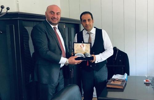 Bakırköy İçe Tarım Müdürü Sinan Taşkır´ı Ziyaret Ettik
