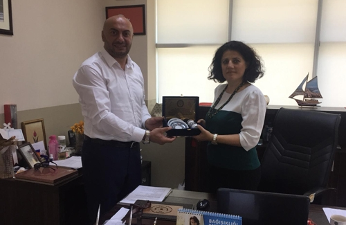 Beşiktaş İlçe Tarım Müdürü Sn. Mine Sevil Kara´yı Makamında Ziyaret Ettik