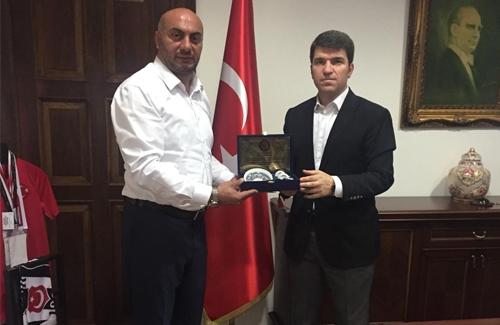Beşiktaş Kaymakamı Sn. Önder Bakan´ı Makamında Ziyaret Ettik