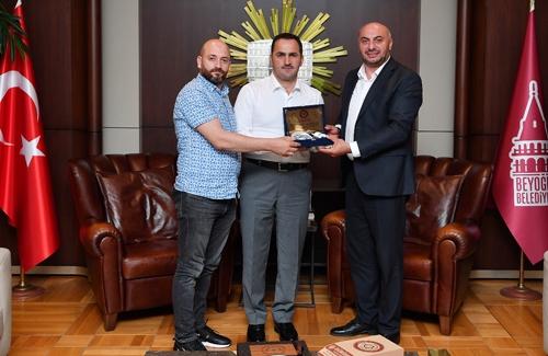 Beyoğlu Belediye Başkanı Sayın Haydar Ali Yıldız´ı Makamında Ziyaret Ettik