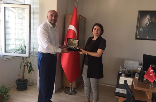 Beyoğlu İlçe Tarım Müdürü Sn. Serap Öztürk´ü Makamında Ziyaret Ettik