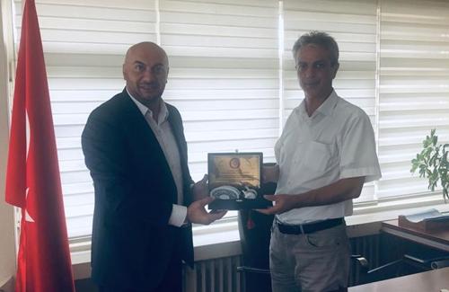 Çatalca İlçe Tarım Müdürü Kadir Güngör´ü Ziyaret Ettik