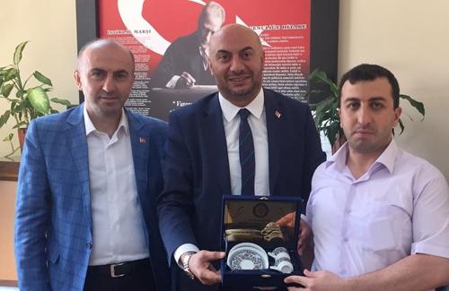Çekmeköy İlçe Tarım Müdürü Sayın Ahmet Beşir İçin´i Ziyaret Ettik