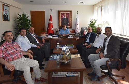 İstanbul İl Tarım ve Orman Müdürü Sayın Ahmet Yavuz KARACA´yı ziyaret ettik