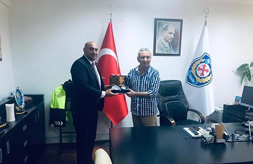 İstanbul İl Emniyet Müdür Yardımcısı Mustafa Şaşmaz´ı Ziyaret Ettik