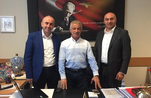 İstanbul İl Milli Eğitim Müdür Yardımcısı İrfan Zeki ER´i Ziyaret Ettik