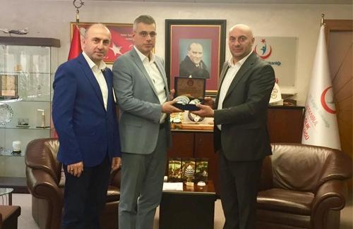 İstanbul İl Sağlık Müdürü Sn. Prof. Dr. Kemal Memişoğlu´nu Ziyaret Ettik