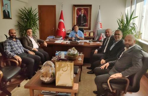 İstanbul İl Tarım Müdürümüz Sn. Ahmet Yavuz Karaca´yı Ziyaret Ettik