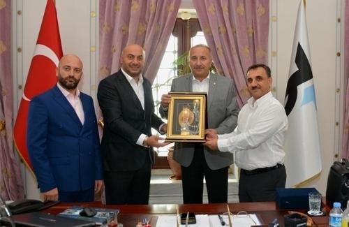 İstanbul Ticaret Borsası Borsa Başkanı Ali Kopuz´u Ziyaret Ettik