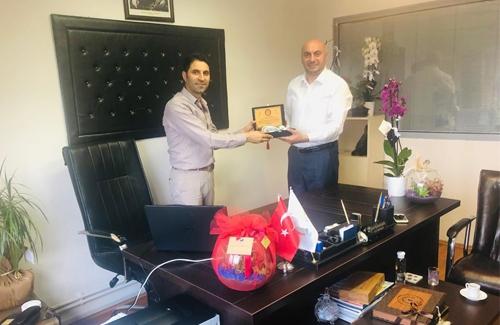 Kadıköy İlçe Tarım Müdürü Sn. Sani Gündoğdu´yu Ziyaret Ettik