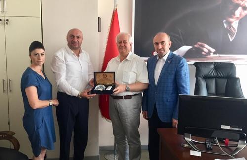 Pendik İlçe Tarım Müdürü Sn. Mustafa Gökdoğan´ı Ziyaret Ettik