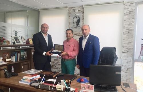 Tuzla İlçe Tarım Müdürü Sn. Serkan Varlı´yı Ziyaret Ettik