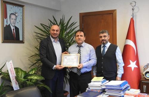 UDOFED´den İstanbul İl Tarım Müdürüne Ziyaret