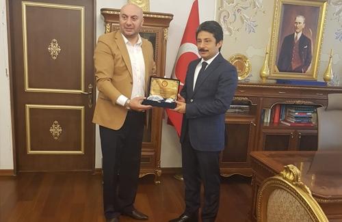 Üsküdar Kaymakamı Sn. Murat Sefa Demiryürek´i Ziyaret Ettik
